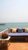 Terrasse image stock