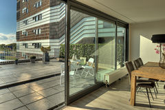 terrasse Stockbild