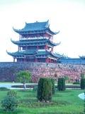Terrasse-berühmte szenische Stellen Bajing in Jiangxi Stockfotos