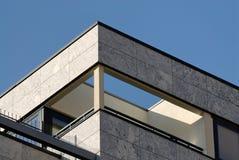 Terrasse d'appartement terrasse Images libres de droits