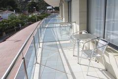 Terrasse de balcon photo stock