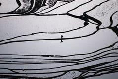 Terrasse de banc Images stock