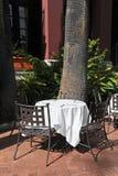 Terrasse de café image libre de droits