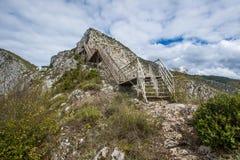 Terrasse de canyon de Valla Images stock