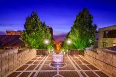 Terrasse de monument à Lynchburg Photographie stock