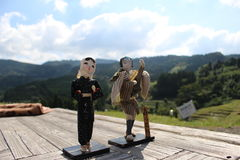 Terrasse de riz d'Oyama Images stock
