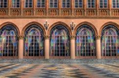 Terrasse de Zan de Ca Photo libre de droits