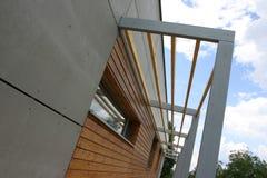 Terrasse en bois Image libre de droits