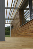 Terrasse en bois Photos stock