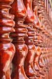 Terrasse en bois thaïlandaise Photographie stock
