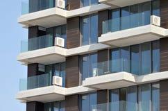Terrasse mit Klimaanlage Lizenzfreies Stockbild