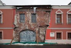 Terrasse non restaurée. Moscou centrale. La Russie. Photo libre de droits