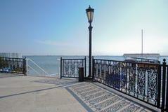 Terrasse russe près du lac Photos libres de droits