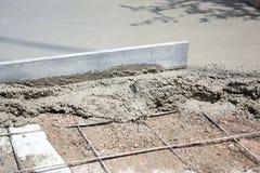 Terrasseaufbau stockfotos
