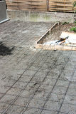 Terrasseaufbau Lizenzfreies Stockbild