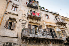 Terrassen en balkons Royalty-vrije Stock Foto