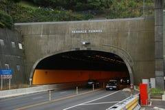 Terrassen-Tunnel Stockfotos