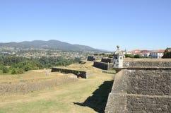 Terrassen van het fort Royalty-vrije Stock Foto's