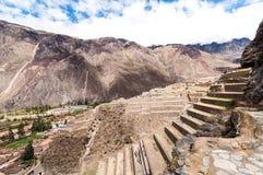 Terrassen van pisac in urubamba vallei stock foto afbeelding 38011270 - Afbeeldingen van terrassen verwachten ...