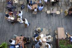 Terrassengeist im Sommer Lizenzfreies Stockbild