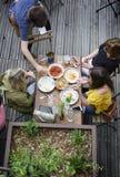 Terrassengeist im Sommer Lizenzfreies Stockfoto