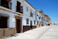 Terrasserade hus, Antequera Royaltyfri Foto