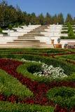terrasserade trädgårdar Royaltyfri Fotografi