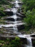 terrasserar vattenfall royaltyfri bild