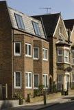 terrasserat engelskt hus Royaltyfria Bilder