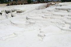 Terrasses de Pamukkale Image stock