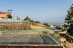 Terrasses géorgiennes Photos libres de droits