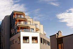 Terrasses solaires de toit, Norvège Photos stock