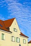 Terrasvormig huis in suburbia Stock Foto's