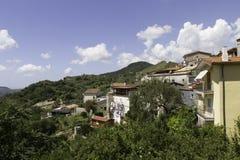 Terrati on a hot summer day, Cosenza, Calabria, Italy. Stock Photo