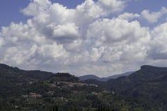 Terrati on a hot summer day, Cosenza, Calabria, Italy. Stock Photos