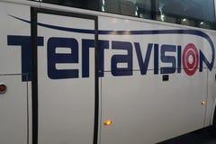 Terravision buss Royaltyfria Bilder
