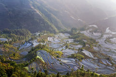 Terraza de Hani, Yunnan, China07 Fotos de archivo libres de regalías
