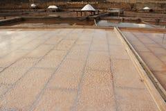 terraza de la sal Fotos de archivo libres de regalías