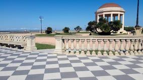 Terraza de Livorno Mascagni Imagen de archivo libre de regalías