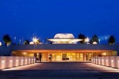 Terraza de Monona en el crepúsculo Imagen de archivo libre de regalías