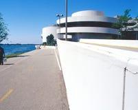 Terraza de Wright Monona Imágenes de archivo libres de regalías