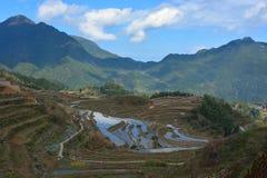 Terraza de Yunhe Imagen de archivo libre de regalías