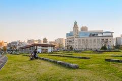 TERRAZA de ZOU-NO-HANA en el puerto de Yokohama Foto de archivo libre de regalías