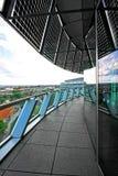 Terraza del último piso imagen de archivo