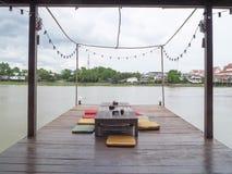 Terraza para relajarse Foto de archivo