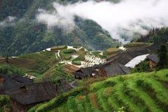 Terraza ping'an de Longsheng Imagenes de archivo