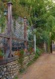 Terraza rústica Foto de archivo libre de regalías
