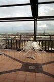Terraza vacía Fotografía de archivo