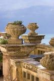 Terraza vieja en Italia Foto de archivo libre de regalías