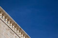 Terraza y cielo Imágenes de archivo libres de regalías